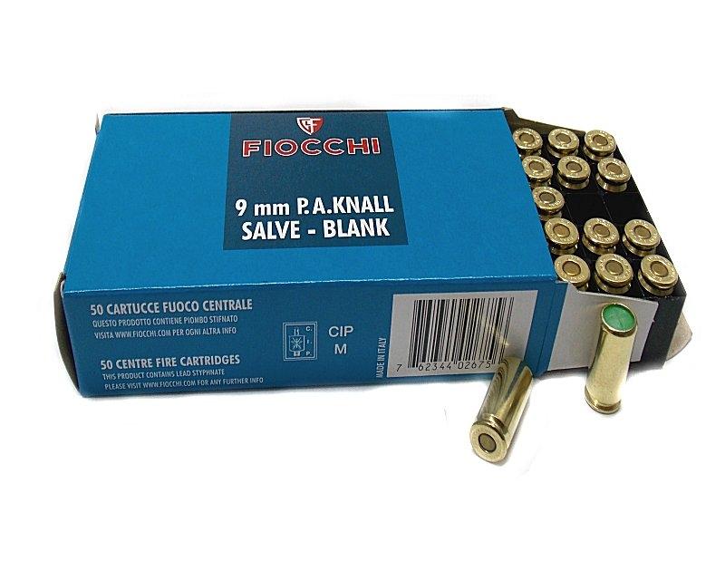 FIOCCHI Startni metak 9mm PAK (P.A. KNALL 9 X 22) Image