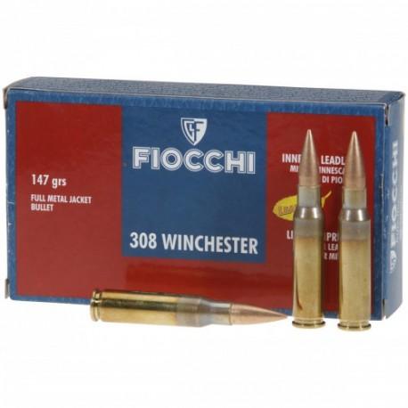 FIOCCHI .308 Winchester FMJ 147 Image
